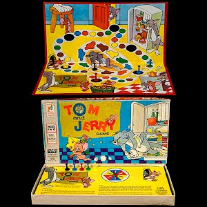 Vintage Tom and Jerry Board Game