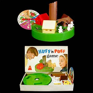 Vintage 1960 Huff and Puff Game