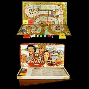 Vintage Dukes of Hazard Board Game