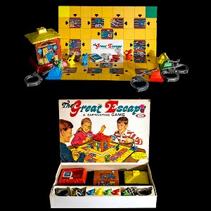 Vintage The Great Escape Board Game