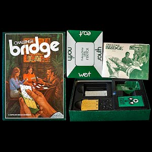Vintage Challenge Bridge Board Game, A 3M Bookcase game