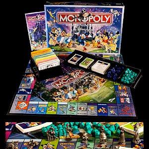 Disney Monopoly Board Game