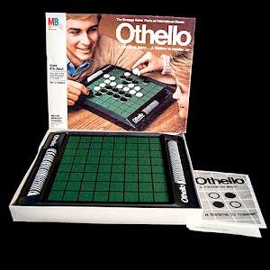 Vintage Othello Board Game