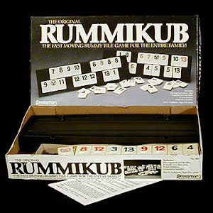Vintage Rummikub Table Game