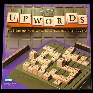 Vintage Upwords Board Game