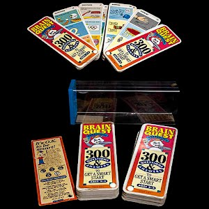 Vintage Brain Quest Cards Game