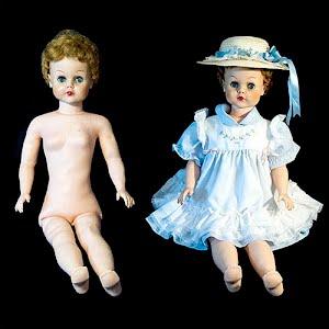 Vintage 1980 Big Girl Doll