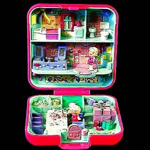 Vintage Polly Pocket 1989 Party Time Surprise