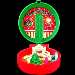 Vintage Polly Pocket 1993 Totally Toy Holiday