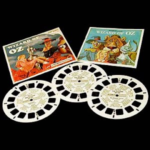 Wizard of Oz Blisterpack view master reels