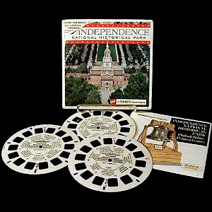 Independence National Historical Park Blisterpack view master reels