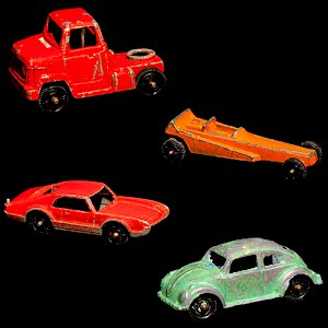 Tootsietoy Vehicles Cars, truck, dragster