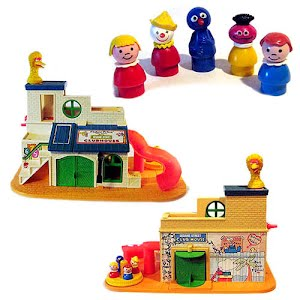 Sesame Street Clubhouse Fisher Price Toy