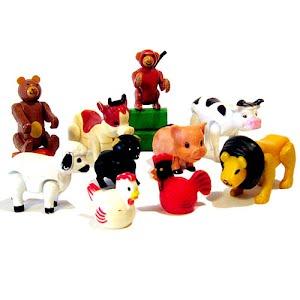 Playskool plastic animals toy