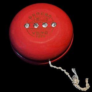 Vintage 1950 Duncan Jeweled Tournament Yo-Yo Toy