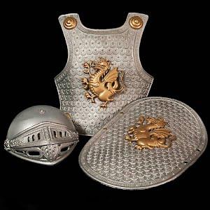 Plastic Knight Armor for Child Toysmith toy