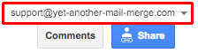 Right Google account