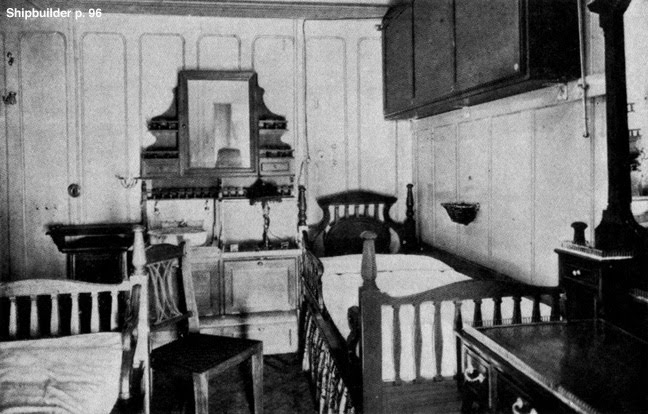 A firstclass bedroom. First class Suites and Staterooms   Test