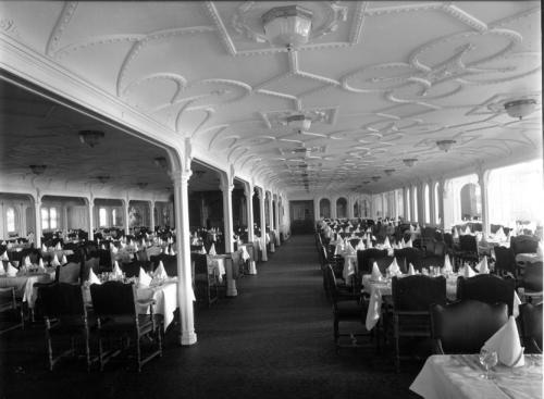 The Dining Saloon, At The Starboard Side
