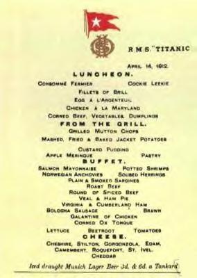 First Class Diningsaloon Test