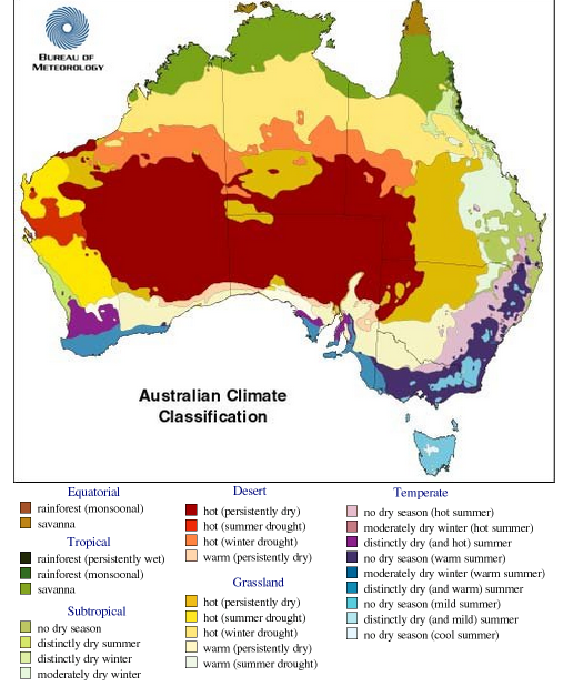 central australia which is the center majority section is desert because central australia is not arable