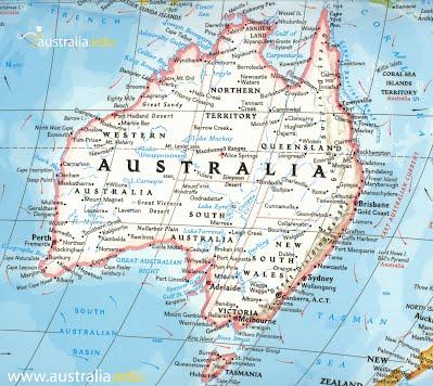 australia political map.?