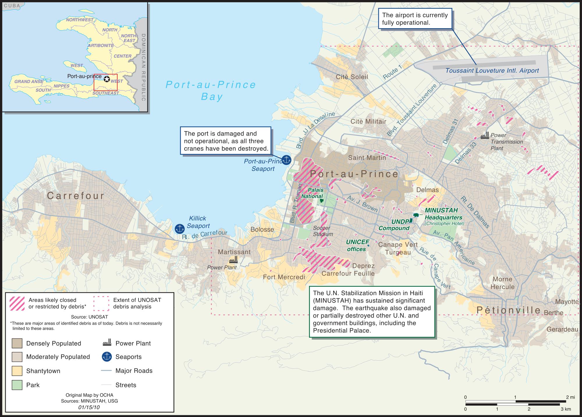 Urban Land Use Haiti