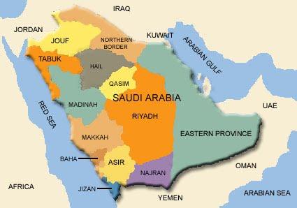 saudi arabias political map saudi arabias topography