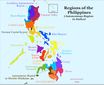 Climate Map Of The Philippines With Label Republic of the Phillipines