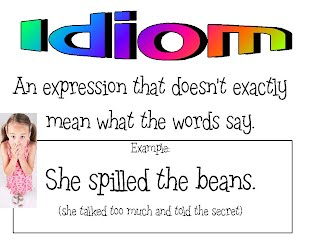Idioms - Ms  Yackle's 5th Grade
