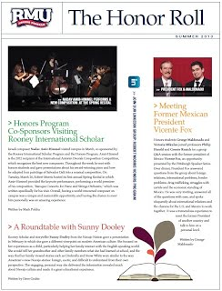 Honors Summer Newsletter