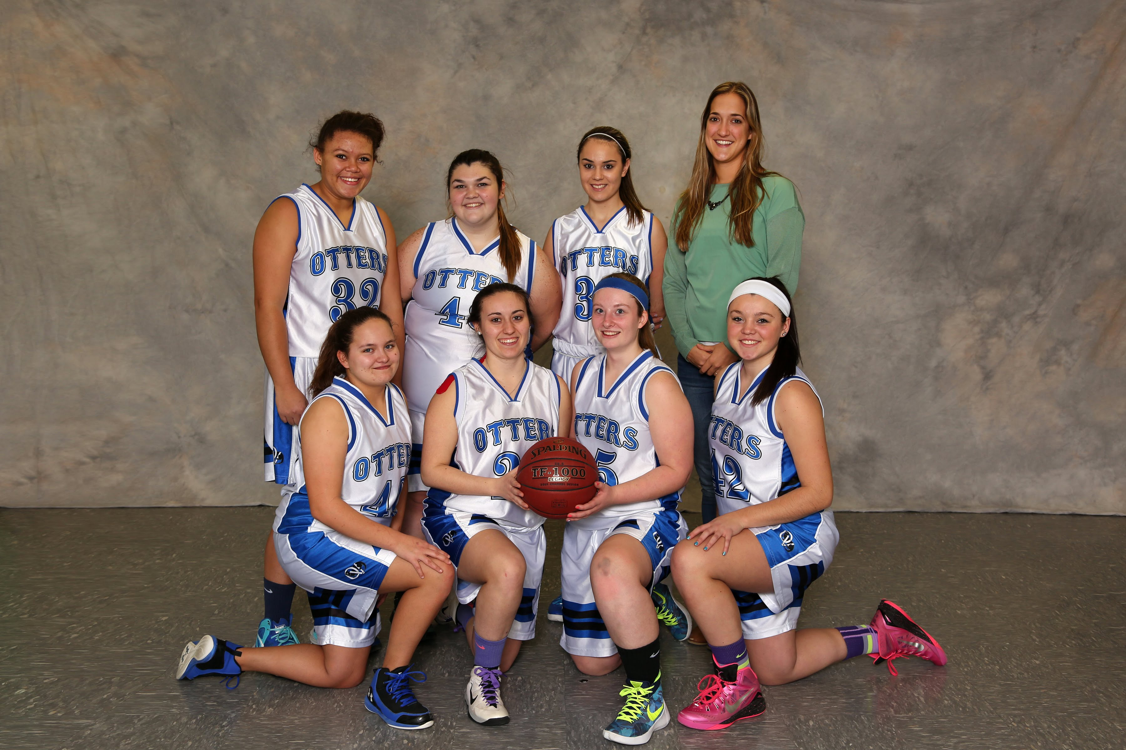 Sports basketball girls