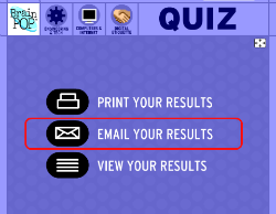 select email results