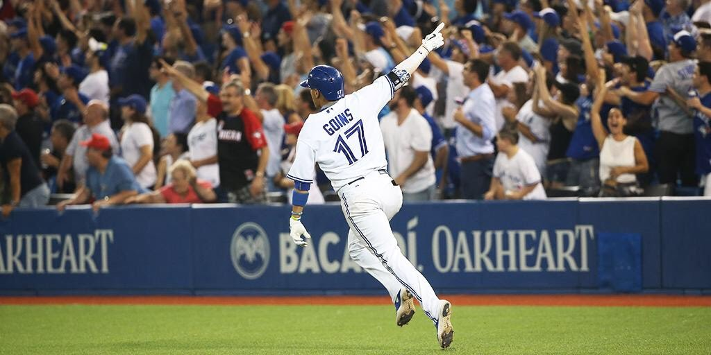 Can you imagine what it must feel like to hit a walkoff homerun in a MLB game for a contending team in front of a huge crowd? Former Tiger Ryan Goins can....