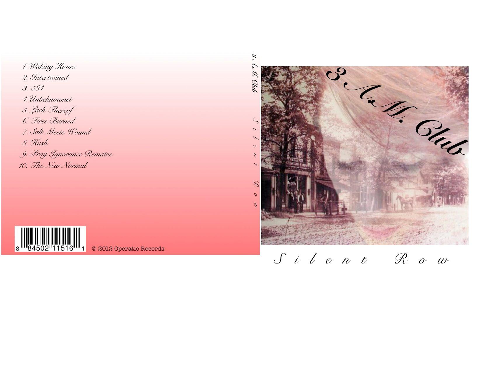 CD Cover - Aubrey Kaye Edmonds