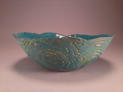 Patterned Coil Bowl Pottery