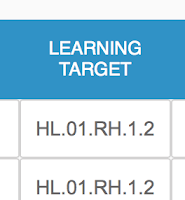 Target Code Example