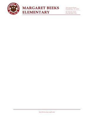 Graphic Design Banner Sign LetterHead Calendar on elementary certificates, elementary bookmarks, elementary newsletters,