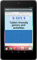 Tablet-friendy links