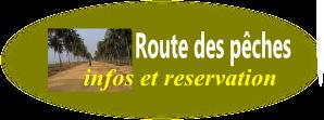 voyage bénin, route des pêches