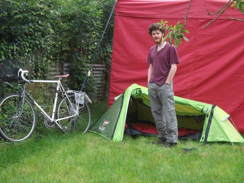 Un nouveau voyageur à vélo à Saint-Martin