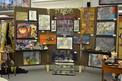 Mary Beth Lee's Artshow