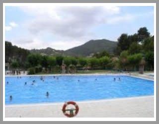 piscina municipal d 39 estiu la blava fem esport