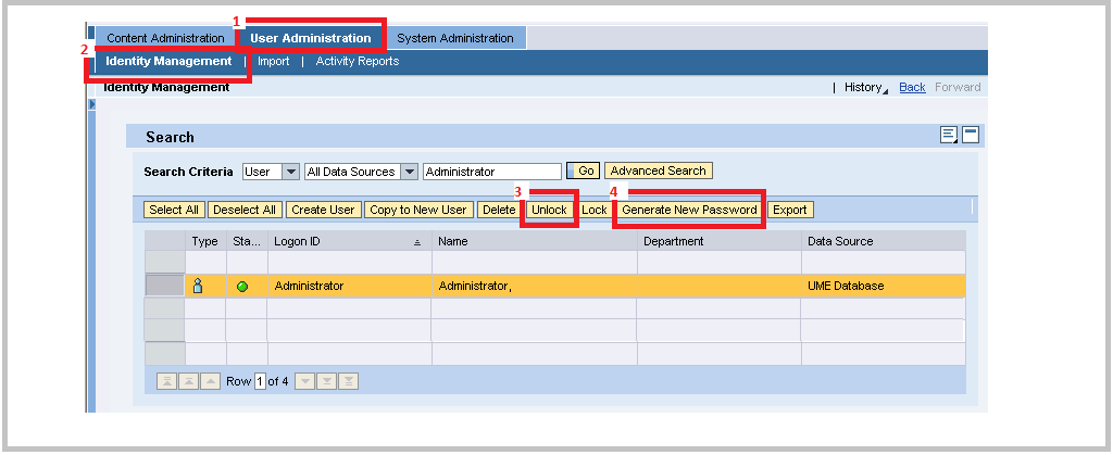 SAP JAVA Administrator password change - SAP BASIS Tuts