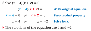 9.4 Solve Polynomial Equations Factored Form - Match Club Help Site