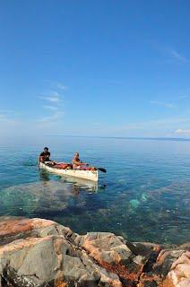 Steph and Shane, Lake Superior