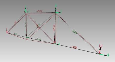 Example 1: - FreeCAD: Truss Analysis