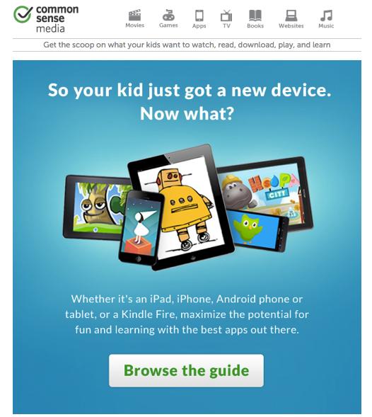 Common Sense Media App Guide