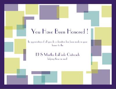 EHS Martha LaPerle Outreach