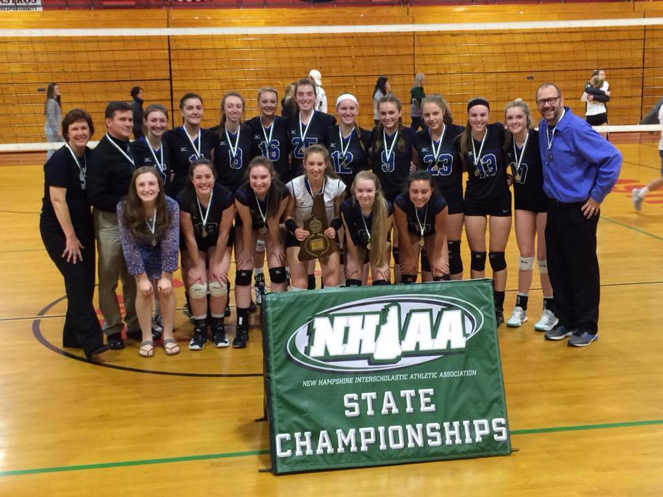 Congratulations to the Girl's Volleyball Team on the their third consecutive Division I Championship!